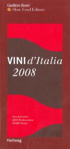Gambero Rosso Vini d'Italia 2008 - Hallwag
