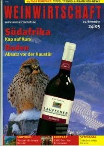 Weinwirtschaft 25/11/2005