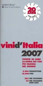 Gambero Rosso Vini d'Italia 2007