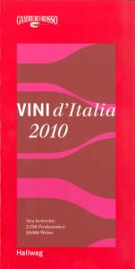 Gambero Rosso Vini d'Italia 2010 - Hallwag